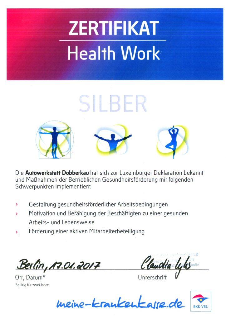 Health work