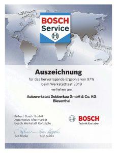 Bosch Urkunde